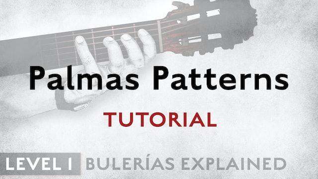 Bulerias Explained - Level 1 - Palmas Patterns - TUTORIAL