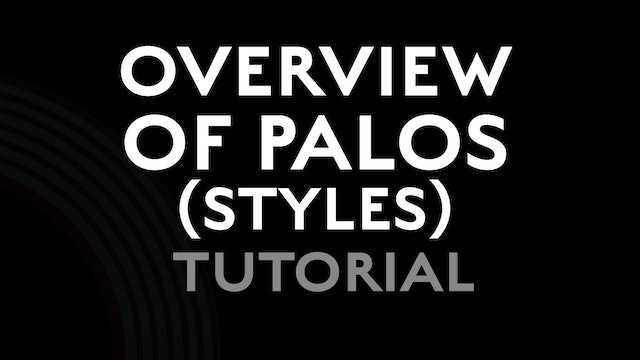 Overview of Flamenco Palos (styles) - Tutorial