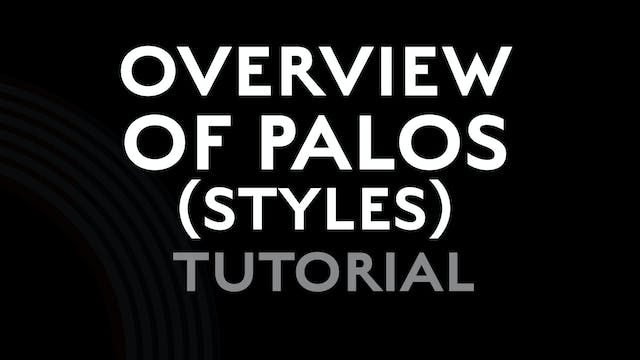 Overview of Flamenco Palos (styles) -...