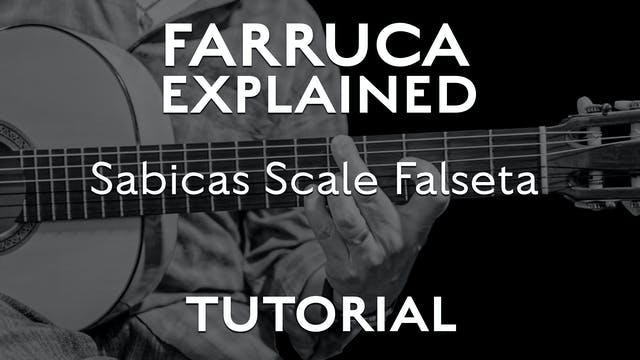 Farruca Explained - Sabicas Scale Fal...