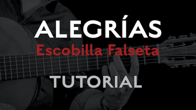 Friday Falseta - Alegrias Escobilla Falseta - Tutorial