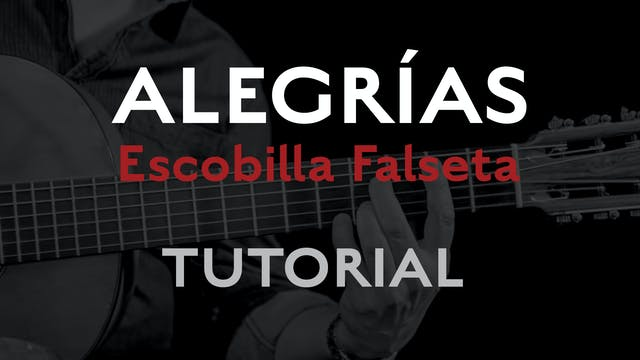 Friday Falseta - Alegrias Escobilla F...