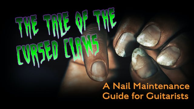 A Nail Maintenance Guide For Guitaris...
