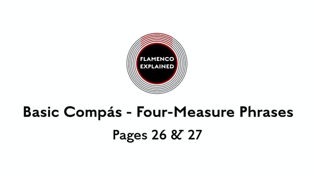 Tangos Compas Four-Measure Phrases Pa...