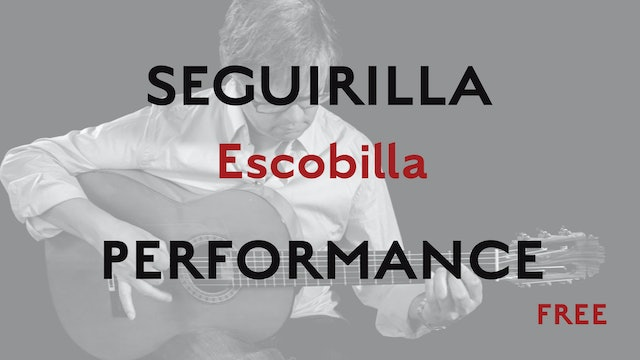 Friday Falseta - Seguirilla Escobilla - Performance