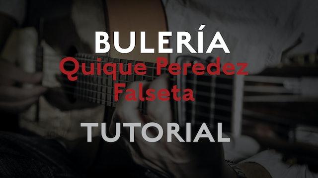Friday Falseta - Bulerias falseta by Quique Paredes - Tutorial
