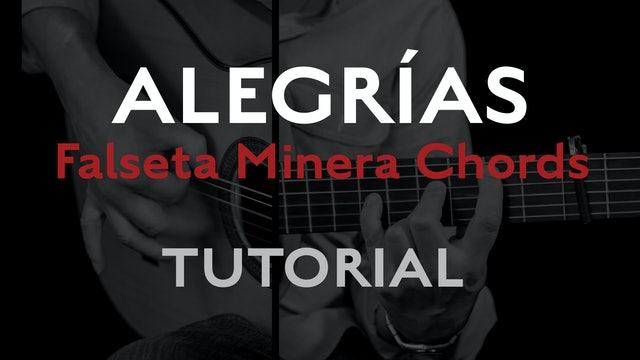 Friday Falseta - Alegrias Falseta Minera Chords - Tutorial