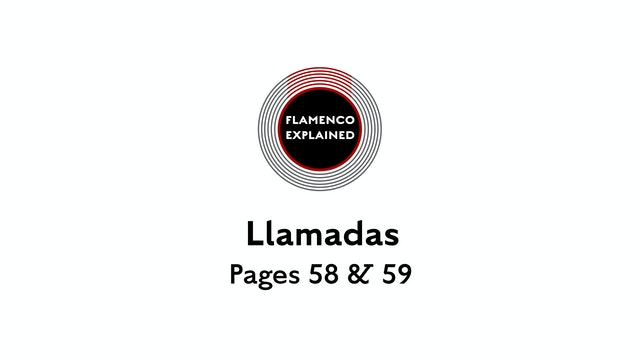 Alegrias Llamadas Pages 58 & 59