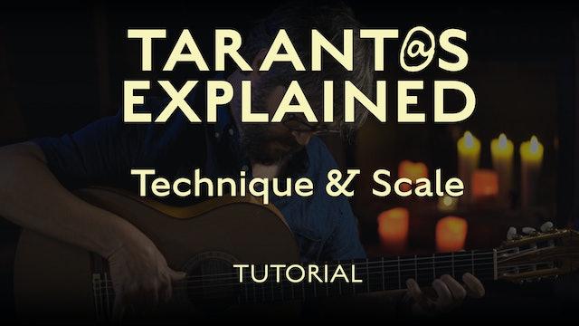 Tarant@s Explained - Technique & Scale - TUTORIAL