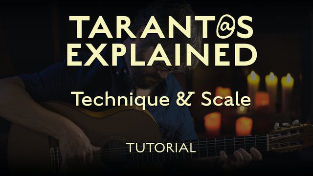 Tarant@s Explained - Technique & Scal...