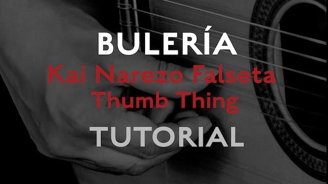 Friday Falseta - Buleria - Kai Narezo Falseta Thumb Thing - Tutorial