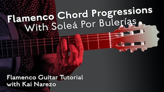 Solea Por Bulerias - Chord Progressions - TUTORIAL