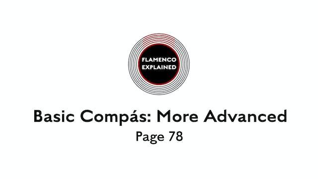 Bulerias Compas More Advanced Page 78
