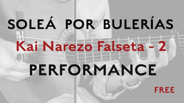 Friday Falseta - Solea Por Bulerias -...