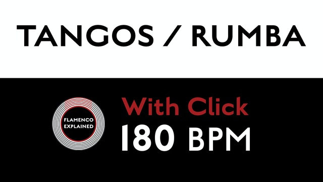 Compás Loops - Tangos/Rumba - 180 BPM - With Click