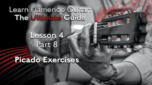 Lesson 4 - Part 8 - Picado Exercises