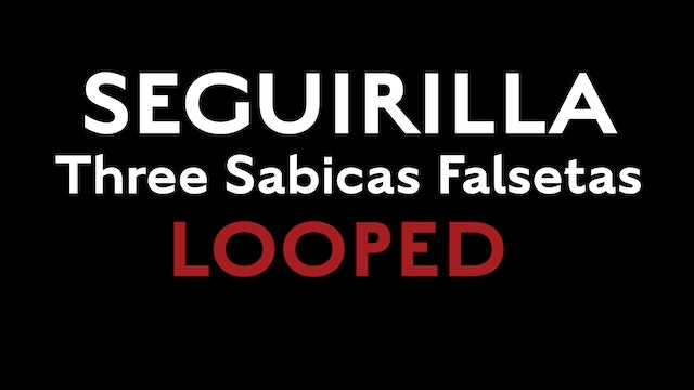 Friday Falseta - Seguirilla - Three Sabicas Falsetas LOOPED