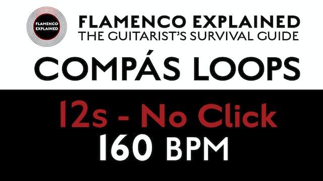 Compás Loops - 12s No Click 160 BPM
