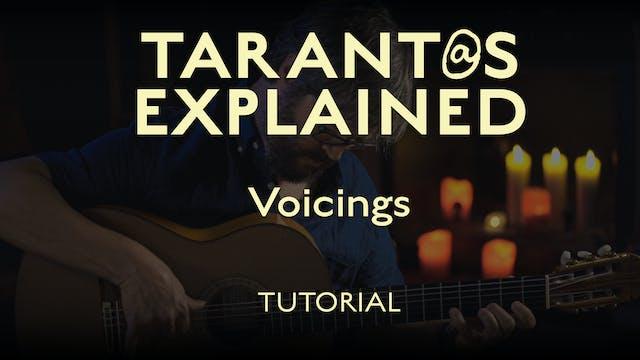 Tarant@s Explained - Voicings - TUTORIAL