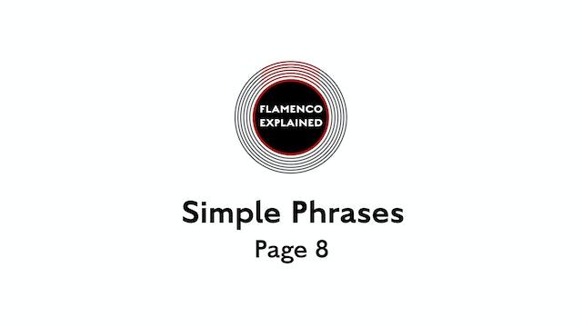 Solea Simple Phrases Page 8