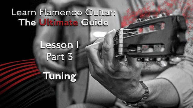 Lesson 1 - Part 3 - Tuning