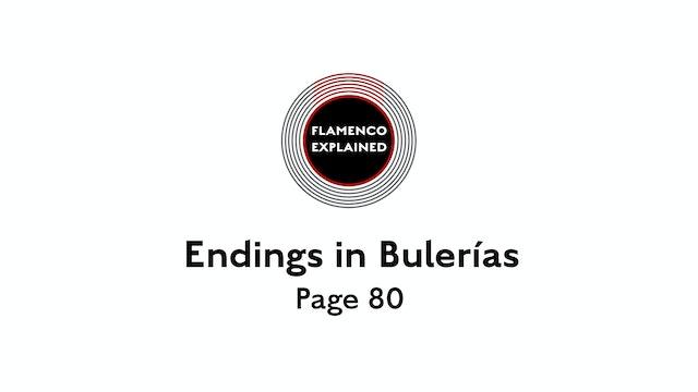 Bulerias Endings Page 80