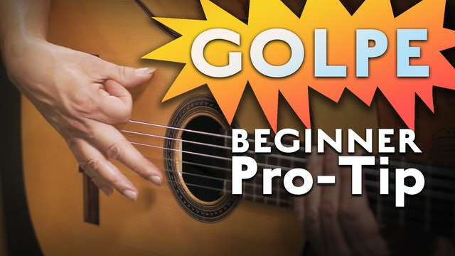 What is a Golpe - Beginner Pro Tip