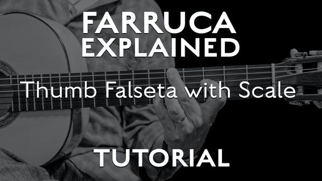 Farruca Explained - Thumb Falseta wit...
