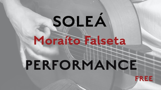 Friday Falseta - Solea Falseta by Moraito - Performance