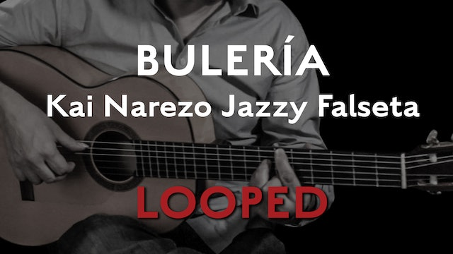 Friday Falseta Kai Narezo Jazzy Buleria Falseta - LOOP