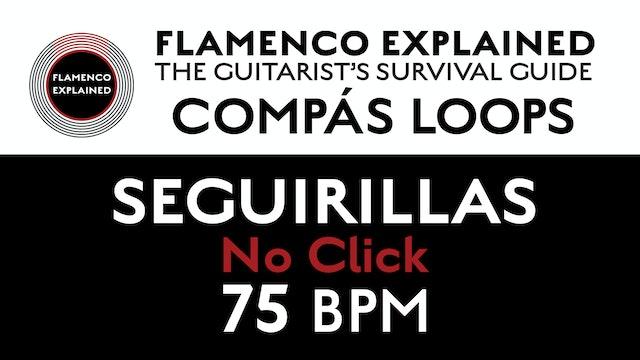 Compás Loops - Seguirilla - No Click 75 BPM