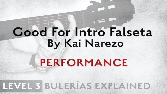 Bulerias Explained - Level 3 - Good For Intro Falseta by Kai Narezo - PERFORM