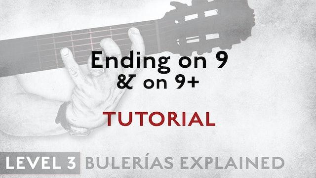 Bulerias Explained - Level 3 - Ending on 9 & 9+ - TUTORIAL