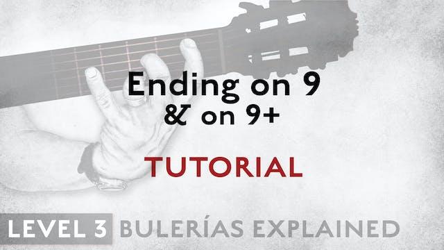 Bulerias Explained - Level 3 - Ending...