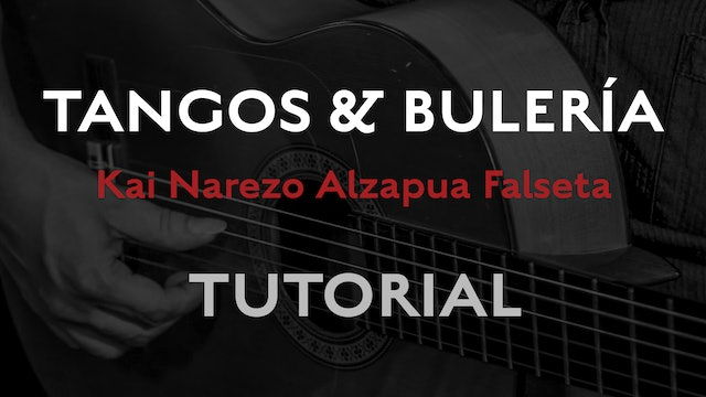 Friday Falseta - Tangos & Buleria Alzapua - Kai Narezo Falseta Tutorial
