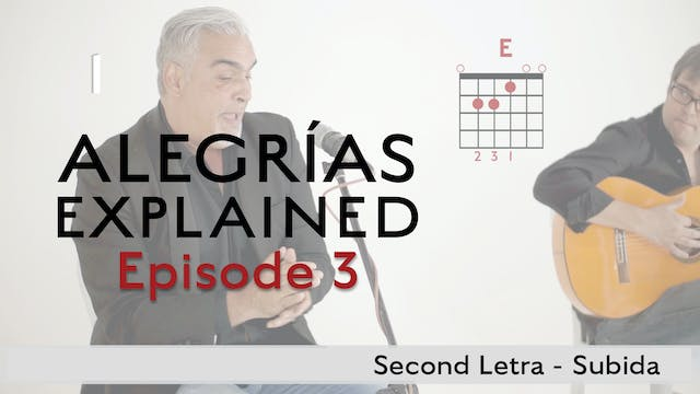 Alegrias Explained - Episode 3