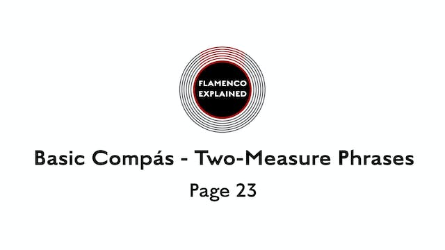 Tangos Basic Compas Two-Measure Phras...