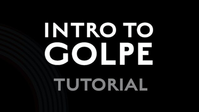 Introduction to Golpe - Tutorial