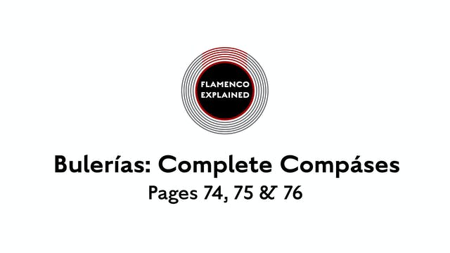 Bulerias Complete Compases Pages 74, ...