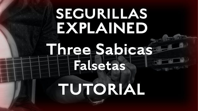 Seguirillas Explained - Three Sabicas...