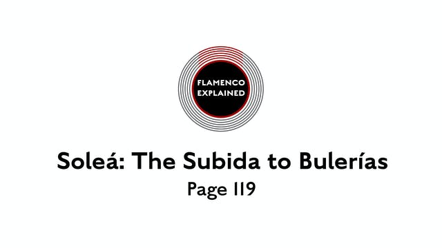 Solea The Subida To Bulerias Page 119