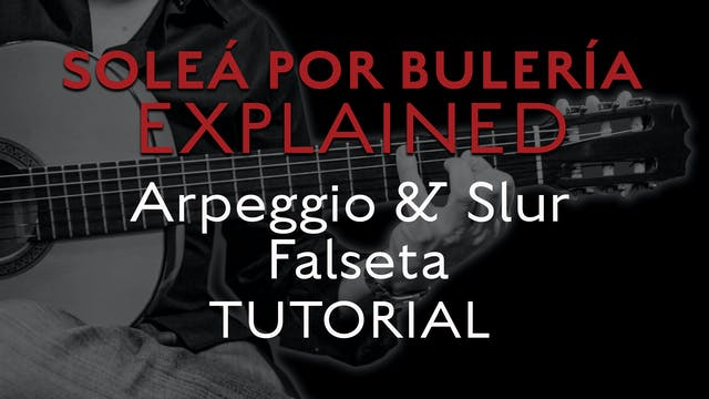 Solea Por Bulerias Explained - Arpegg...