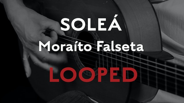 Friday Falseta - Solea Falseta by Moraito - LOOPED
