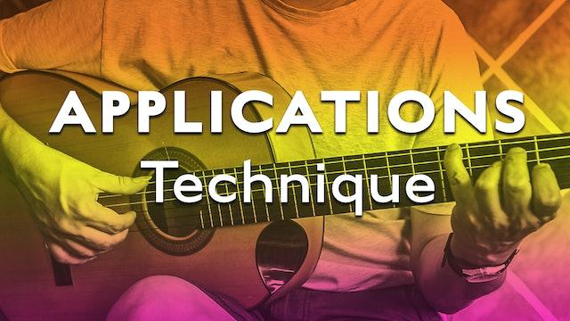 Technique Bootcamp - Applications Technique