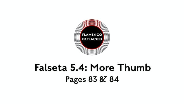 Bulerias Falseta: More Thumb Pages 83...