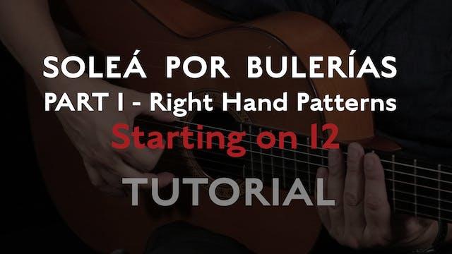Solea Por Bulerias Right Hand Pattern...