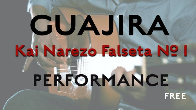 Friday Falseta - Kai Narezo Guajira F...