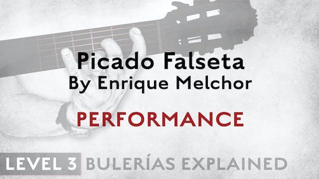 Bulerias Explained - Level 3 - Picado...