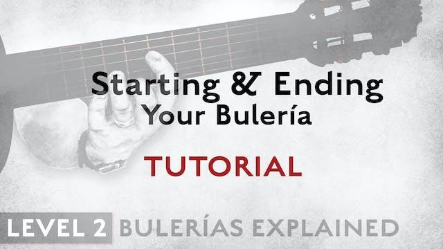 Bulerias Explained - Level 2 - Starti...