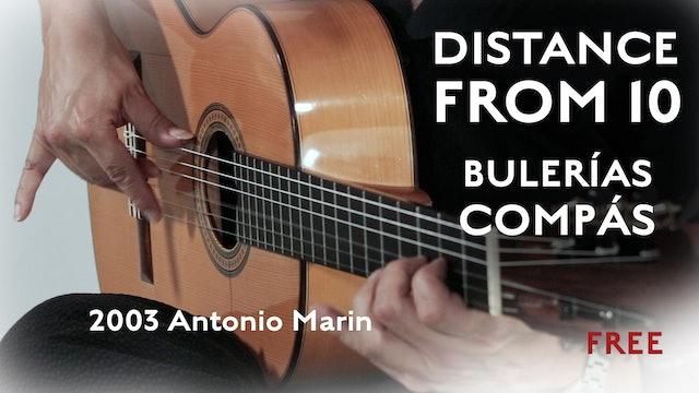 Distance from 10 - 2003 Antonio Marin